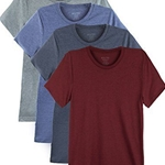 4 Pack Men's Everyday Cotton Blend Short Sleeve T-Shirts