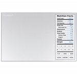Digital Kitchen Scale with Portions Nutritional Facts Display