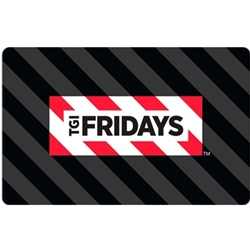 $25 TGI Friday's Gift Card