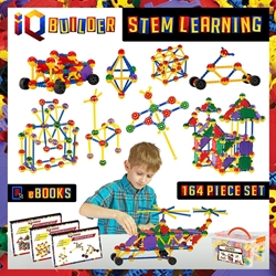 IQ BUILDER - STEM Learning Toys
